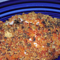 Crispy Sun-Dried Tomato Crusted Chicken