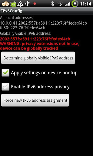 IPv6Config root required
