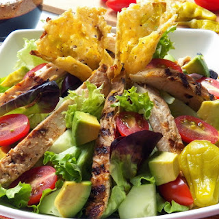 Grilled Chicken Salad with Balsamic Dressing