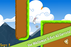 Screenshot of Hop Hop Bunny, the platformer