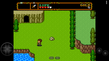 Screenshot of PCE.emu