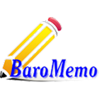 BaroMemo free(Easy Quick Memo) icon