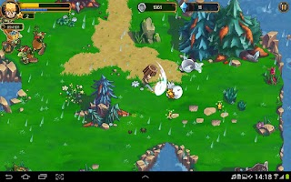 Screenshot of League of Heroes