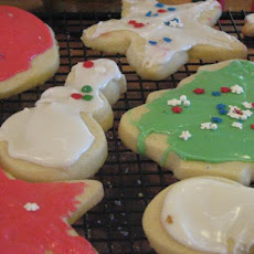 King Arthur Holiday Butter Cookies and Icing That Hardens