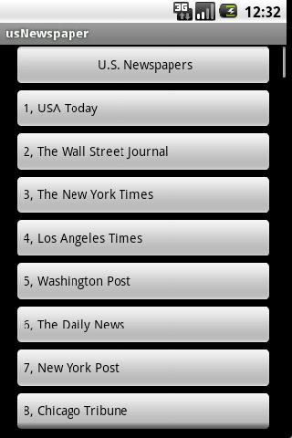 u-s-newspaper for android screenshot