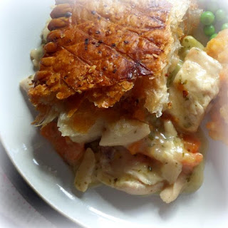 Chicken and Tarragon Pot Pie