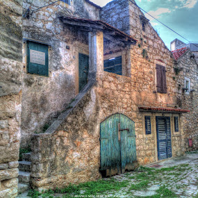 Pirovac Croatia Old Town by Branko Meic-Sidic - Buildings & Architecture Public & Historical ( hdr, croatia, old town, zlosela, pirovac )