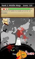 Screenshot of Vocab Ninja - Halloween Free