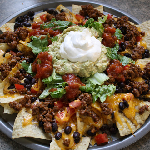 Nachos with Ground Beef
