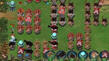 Screenshot of Empire defense (Deluxe)