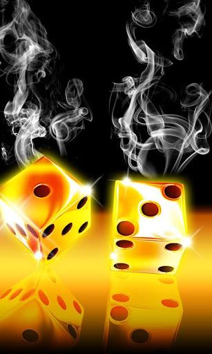 Smoking hot dice 480x800
