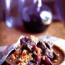 Boeuf Bourguignon with Mushroom Couscous