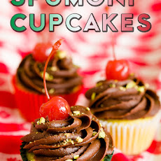 One Bowl Spumoni Cupcakes