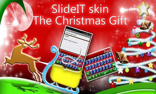SlideIT Christmas Gift Skin