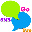 Rainbow Go SMS Pro Theme icon