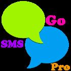 Rainbow Go SMS Pro Theme icon