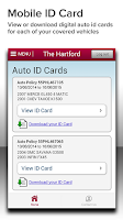 Screenshot of The Hartford Mobile