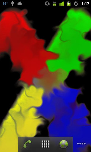 Samsung Finger Paint Full LWP