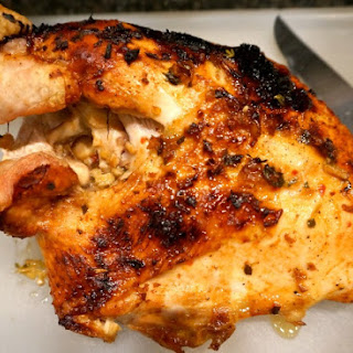 Roasted Turkey Half Breast with Pineapple Sambal Glaze