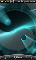Screenshot of 3D Yin and Yang Live Wallpaper