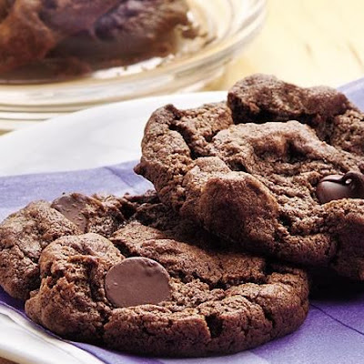 Double-Chocolate Chip Cookies