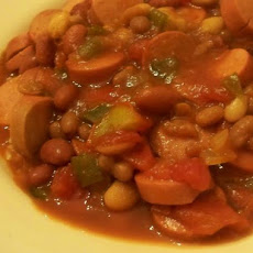 Beans and Weiners Goulash