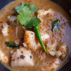 Perfect Goan fish curry