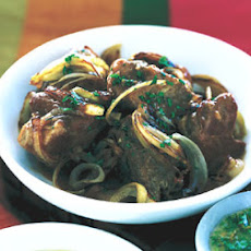 Braised Pork with Mojo Sauce