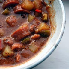 Sylvie's Spicy Bean and Bacon Soup