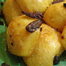Greek Style Potatoes With Kalamata Olives