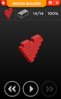 Screenshot of LEGO FAN STEP BUILDING EXAMPLE