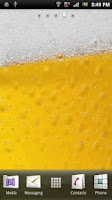 Screenshot of Cool Glass Bubbly Beer