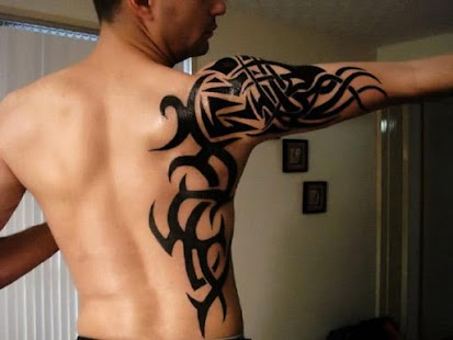 tribal tattoo designs free android app market. Black Bedroom Furniture Sets. Home Design Ideas