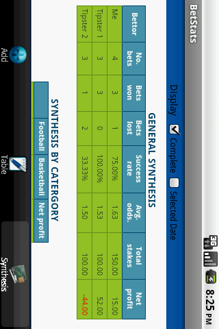玩運動App|BetStats Lite - bet tracker免費|APP試玩