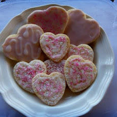 Low Fat Valentine Cookies