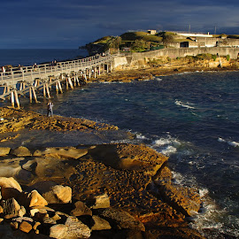 La Perouse by Arnaud Charil - Buildings & Architecture Bridges & Suspended Structures ( nature, australia, ocean, beach, rocks )