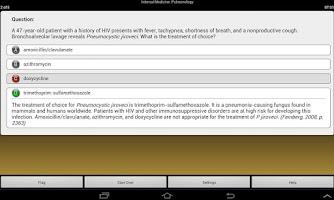 Screenshot of Physician Assistant LANGE Q&A
