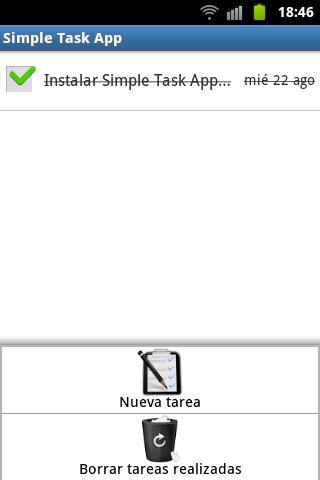 Simple Task App