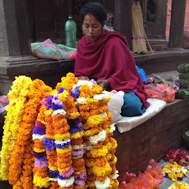 Kathmandu Market by Rose Hawksford - City,  Street & Park  Markets & Shops