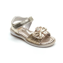 Step2wo Magic Sandal - Sequin Velcro Sandal SANDAL