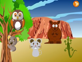 Screenshot of QCat- Toddler Animal Park free
