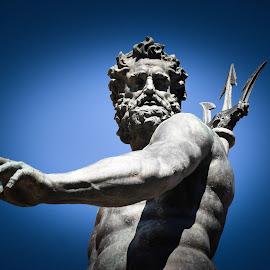 Neptune by Argia Sbolenfi - Buildings & Architecture Statues & Monuments