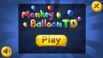 Screenshot of Monkey Balloon Tower Defense