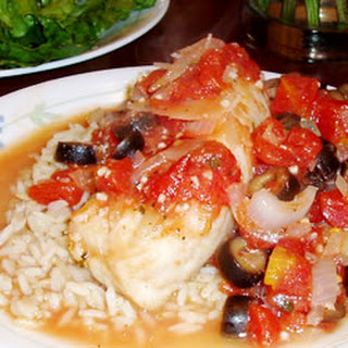Fish Fillets Italiano