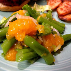 Mandarin Orange Bean Salad