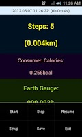Screenshot of Simple Steps - Pedometer v2