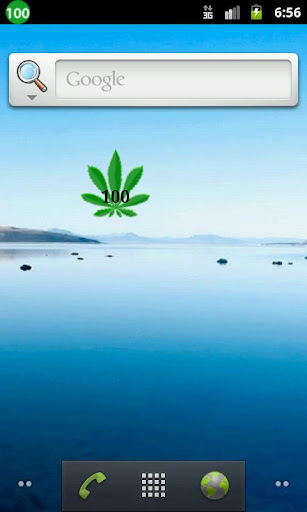 Marijuana Battery Widget