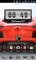 Screenshot of Lambo Aventador Go EX Theme
