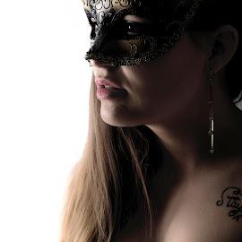 Mask by Perry Turcotte - Nudes & Boudoir Boudoir ( sexy, nude, girl, boudoir, beautiful, mask )