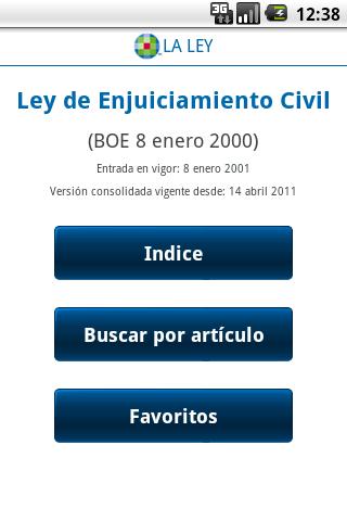 Ley Enjuiciamiento Civil
